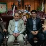شاه محمدی رئیس اداره ورزش و جوانان رشت شد + تصاویر معارفه