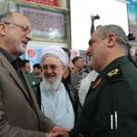 گزارش تصویری مراسم تودیع و معارفه فرمانده جدید سپاه قدس گیلان