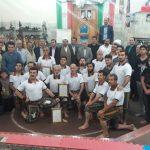 ويژه مراسم هفته دفاع مقدس در زورخانه پورياي ولي فومن با حضور مسئولين شهرستان برگزار شد/تصاوير