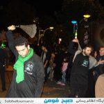 مراسمات ایام محرم حسینی به روایت تصویر در فومن(۱)