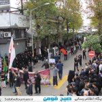 مراسمات ایام محرم حسینی به روایت تصویر در فومن(۲)