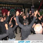 مراسمات ایام محرم حسینی به روایت تصویر در فومن(۳)