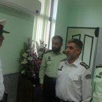 مراسم تودیع و معارفه رئیس پلیس راهور شهرستان شفت برگزارشد.