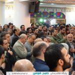مراسم سالگردشهادت حاجیه خانم زهرا دقیقی اولین شهیده شجره طیبه صالحین کشور در مسجدجامع فومن برگزار شد/تصاویر