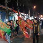 تصاوير/ حرکت دسته عزاداری در شب شهادت حضرت فاطمه زهرا (س)در سطح شهر فومن