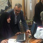 گزارش تصويري از مجموعه تلاش هاي دكتر احمد قديمي بخشدار بخش مركزي  فومن در روزهاي نام نويسي شوراهاي روستا