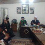 تصاوير/جلسه هم اندیشی طلاب فومن با آیت الله رمضانی عضومجلس خبرگان رهبري در دفتر امام جمعه شهرستان
