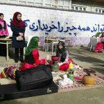 با حضور رييس آموزش و پرورش دانش آموزان دبيرستان غيردولتي مهر آفرين فومن بازارچه بصورت دست ساز ساختند/تصاوير