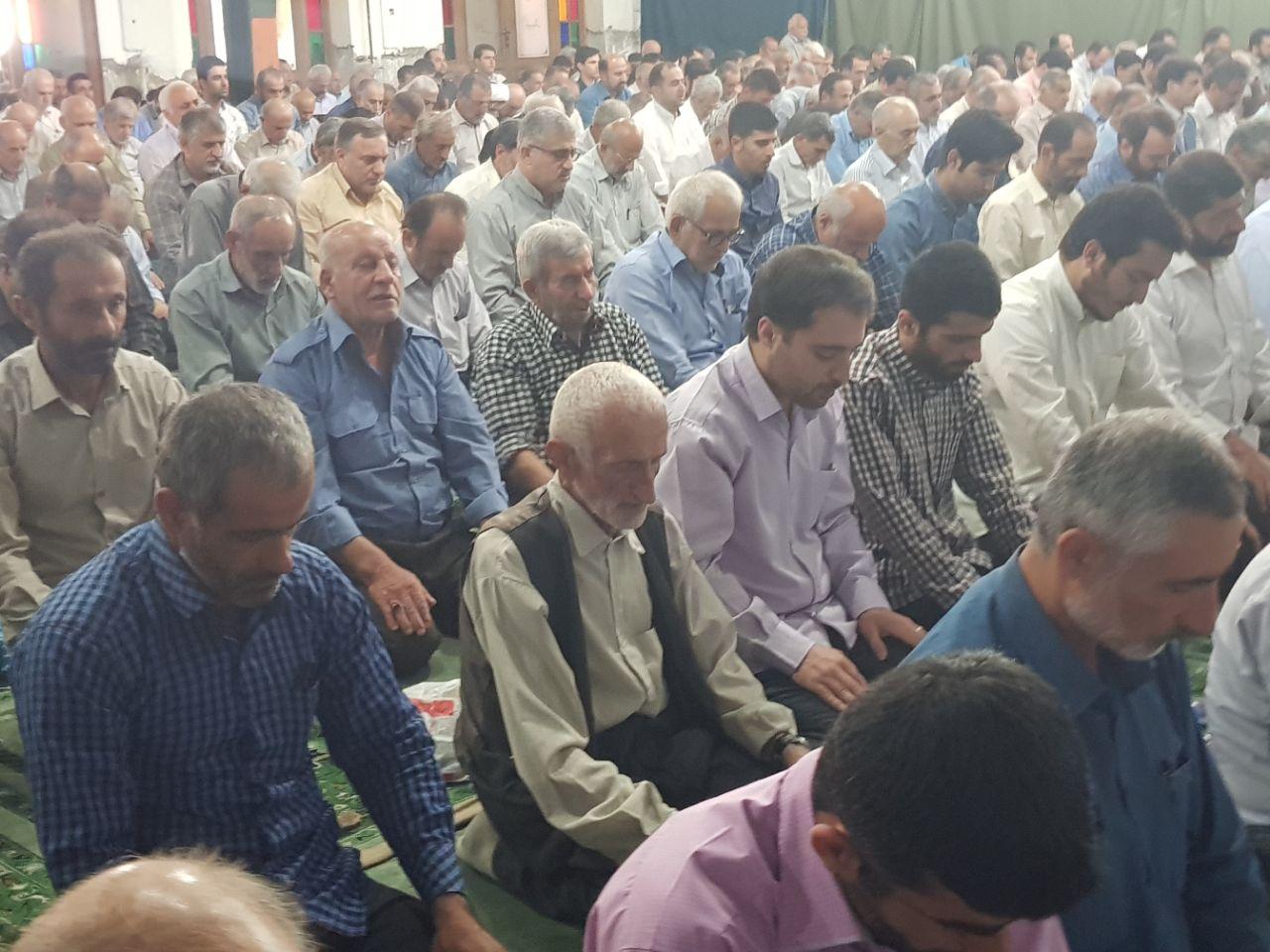 رمضان۹۶/ گزارش تصویری از آیین عبادی سیاسی نماز جمعه در فومن
