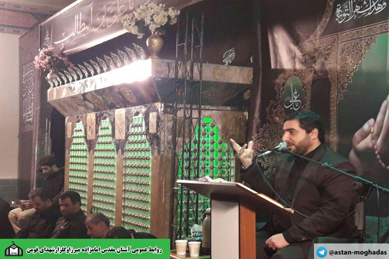 با نواي كربلايي محمد پوراسماعيلي مراسم شب بيست وسوم ماه مبارك رمضان در گلزار شهداي شهر فومن برگزار شد/تصاوير
