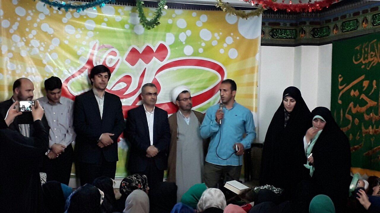 جشن میلاد امام حسن(ع) در خيمه گاه عشاق المجتبي(ع) فومن برگزارشد/تصاوير