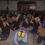 مراسم بك يا الله و عزاداري شب بيست و يكم ماه مبارك رمضان و شب شهادت حضرت علي (ع) در مسجد جامع فومن/تصاوير