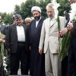 گزارش تصويري از حضور دکتر لاریجانی در مراسم بزرگداشت شهید افتخاری در مزار شهدا و مسجد بالامحله فومن