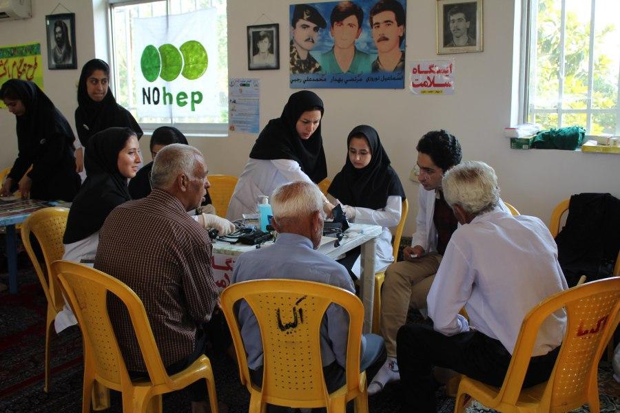 به همت مجمع متخصصان جهادی گیلان برگزار شد؛اردوی جهادی در روستای خلیل سرای فومن+تصاویر