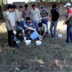 گزارش تصویري از اردوی جهادی شهید ایزانلو در مدرسه امام حسن مجتبی(ع) روستاي علیسرا فومن