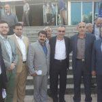 گزارش تصويري از حضور گيلاني ها در مراسم معارفه دكتر محمد علي نجفي استاندار البرز