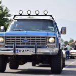گزارش تصويري از دومين همايش ماشين هاي كلاسيك،آفرود و موتورسنگين در شهرستان فومن