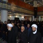 نماز ظهر عاشورا در مسجد جامع فومن به روایت تصویر/محرم ۹۶
