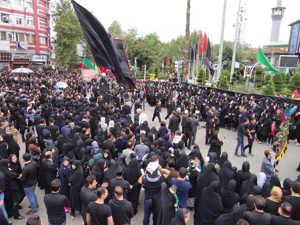 روز عاشورا حسینی در فومن به روایت تصویر(۱)