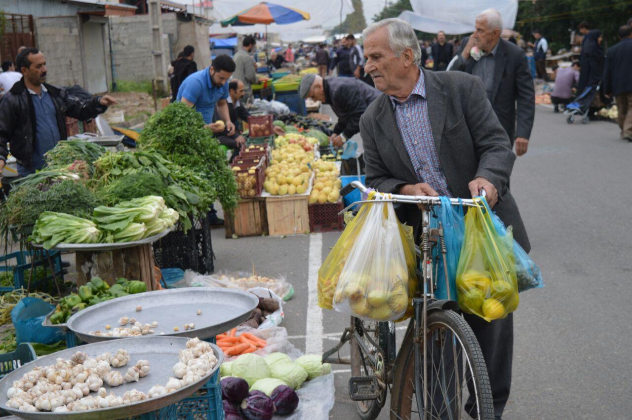 گزارش تصویری بازار روز سه شنبه فومن