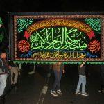 عزاداری شب تاسوعای هیئت زنجیرزنی جوادالائمه امامزاده میرزا به روایت تصویر