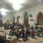گزارش تصویری/ محفل انس قرآن کریم ویژه دهه فجر در مسجد بالامحله فومن