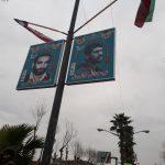 فجر انقلاب؛رونمایی از یادمان شهدای شهرستان با حضور مسئولین به روایت تصویر